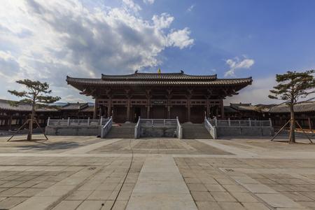 Shanxi Taiyuan Jinwen Gongjing scenery 報道画像