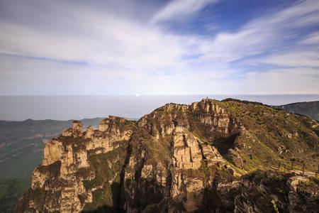 Natural scenery of Zhangjiagou, Pingshun, Shanxi Province, China 版權商用圖片