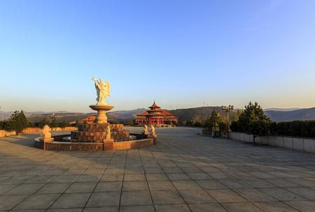 Catholic church in Dongergou, Taiyuan, Shanxi
