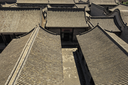 China's Shanxi Taigu Cao Family Courtyard (San Duo Tang)