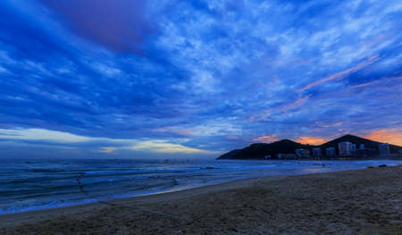 Dadonghai scenery in Sanya, Hainan Province, China