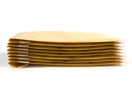 padding: Large size bubble lined shipping or packing envelopes
