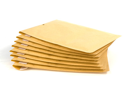 padded: Large size bubble lined shipping or packing envelopes