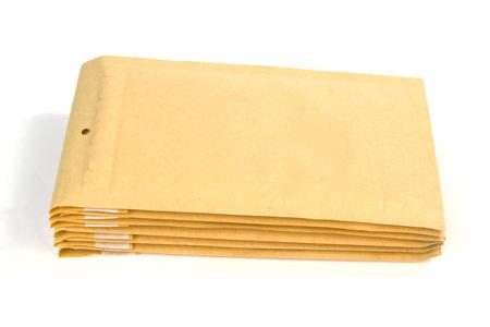 medium size: Medium size bubble lined shipping or packing envelopes