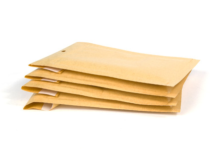 padding: Small size bubble lined shipping or packing envelopes
