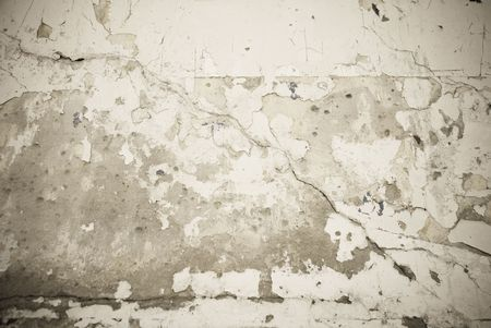 Grungy wall texture shot with cracks Stock Photo - 6232147