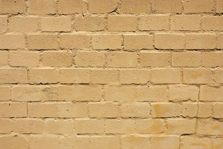 Texture shot of surfae of a brick wall semi covered with paint Stock Photo - 6232151