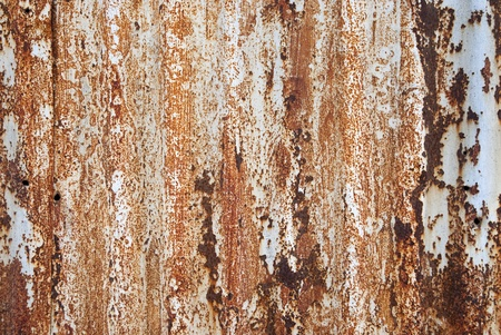 Rusted metal as a background filling the frame Stock Photo - 10715329