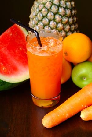 Fruits juice Stock Photo - 8417127