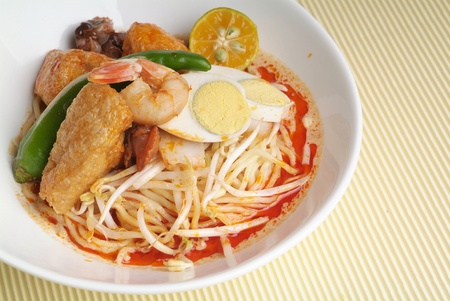 malaya: curry noodle