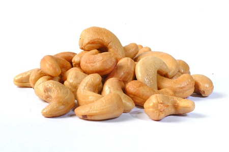 cashew nuts: Roasted cashew nuts