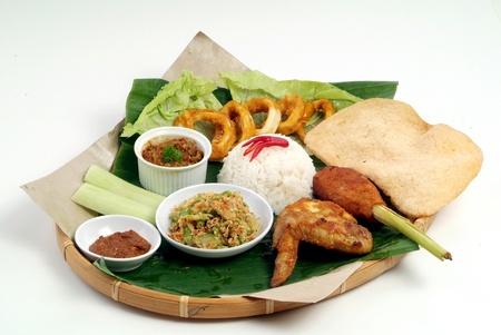 Nasi lemak - malaysian food Stock Photo - 9267597