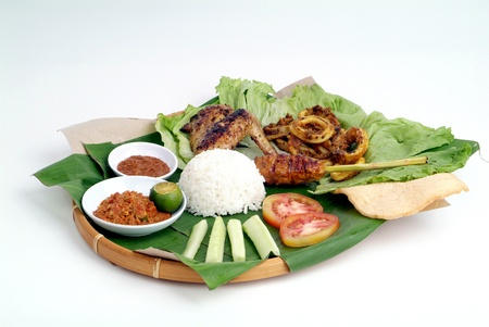 Nasi lemak - malaysian food Stock Photo - 9267598