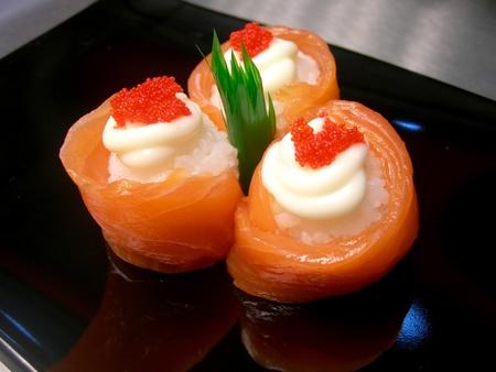sashimi: Sushi  Stock Photo