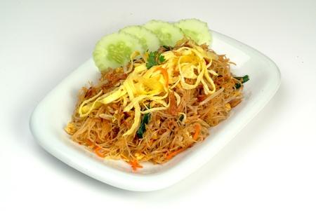 Fried rice noodle - malaysian food  photo