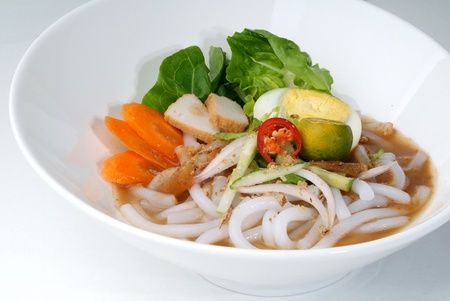 assam: assam laksa - malaysian food