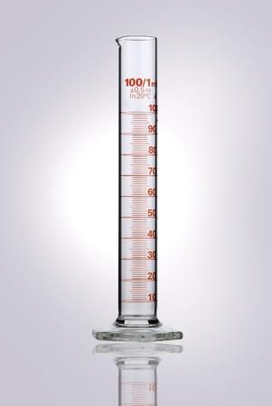 cilindro: Qu�micos frascos Foto de archivo