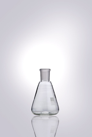 Chemical flasks Stock Photo - 10456309