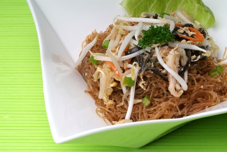 Fried rice noodle - malaysian food  photo