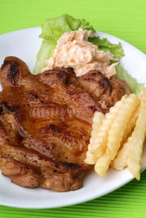 juicy steak  photo