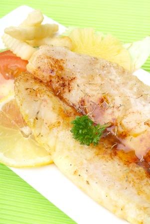 cod fish: fillet  Stock Photo