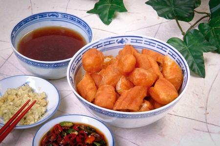 Malaysian stew of pork and herbal soup, ba kut teh  photo