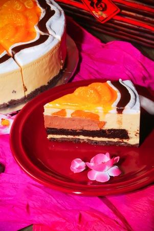 chinese new year orange cake Stock Photo - 12648355