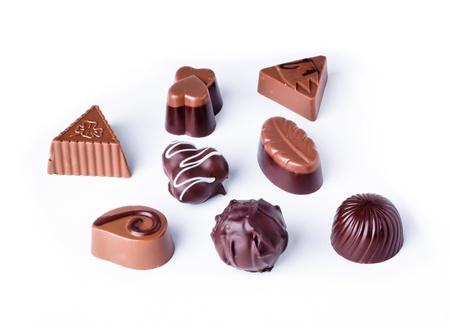 chocolate isolated on white background Stock Photo - 12648148