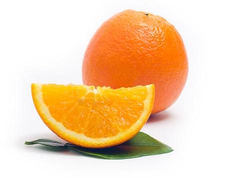 Orange isolated on white background Stock Photo - 12947048