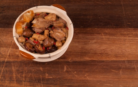 ba kut teh  Malaysian stew of pork and herbal soup, photo