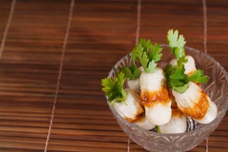 raw fish fillet photo