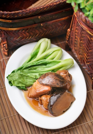 china cuisine: chinese food chicken Stock Photo
