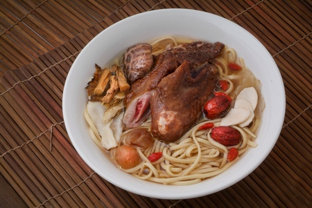 Noodle Soup and asia food photo