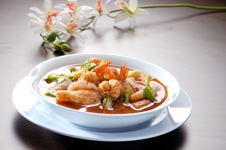 Thai Dishes - Tom Yam Kung photo