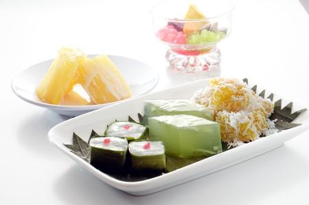 postres: postre tailand�s Thai postre comida dulce Foto de archivo