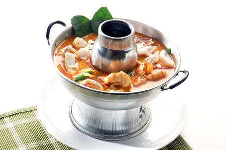 Thai Food Tom Yum seafood photo