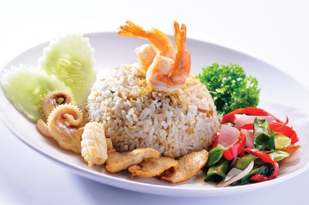 fried rice. Part of a series of nine Asian food dishes. Stock Photo - 13202613