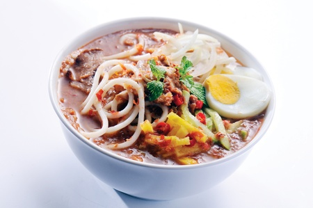 Laksa is traditional food in Malaysia Stock Photo - 13202575