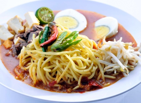 Noodle Soup and asia food Stock Photo - 13202446