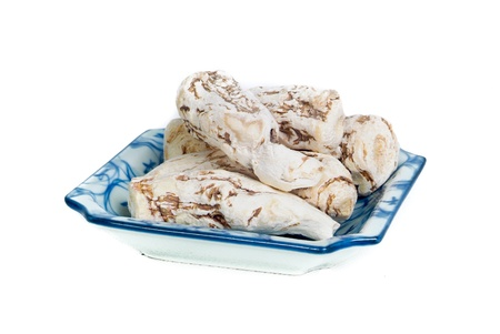 angelica sinensis: dang gui, angelica sinensis, traditional chinese herbal medicine Stock Photo