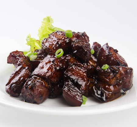 dongpo: pork. chinese cuisine asia food