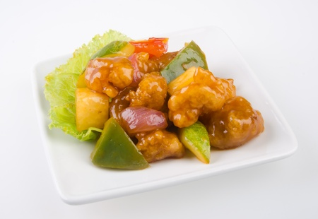 pork sweet and sour pork saia food Stock Photo - 13483965