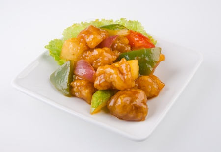 pork sweet and sour pork saia food Stock Photo - 13483963