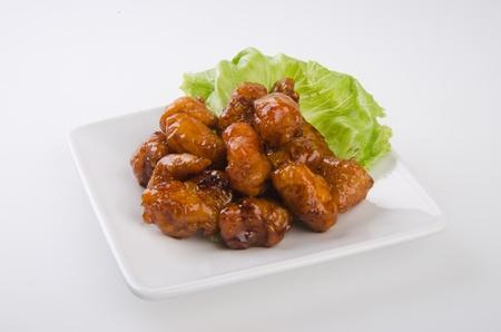 pork sweet and sour pork saia food Stock Photo - 13483967