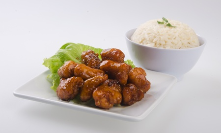 pork sweet and sour pork saia food Stock Photo - 13483958