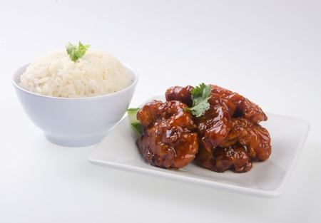 pork sweet and sour pork saia food Stock Photo - 13483953