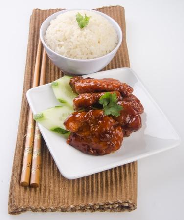 pork sweet and sour pork saia food Stock Photo - 13484026