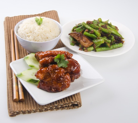 pork sweet and sour pork saia food Stock Photo - 13484016