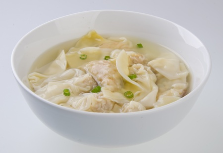 Wonton Soup  pork soup asia food photo