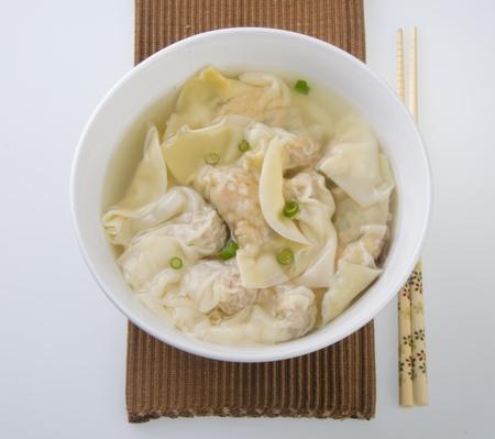 Wonton Soup  pork soup asia food photo
